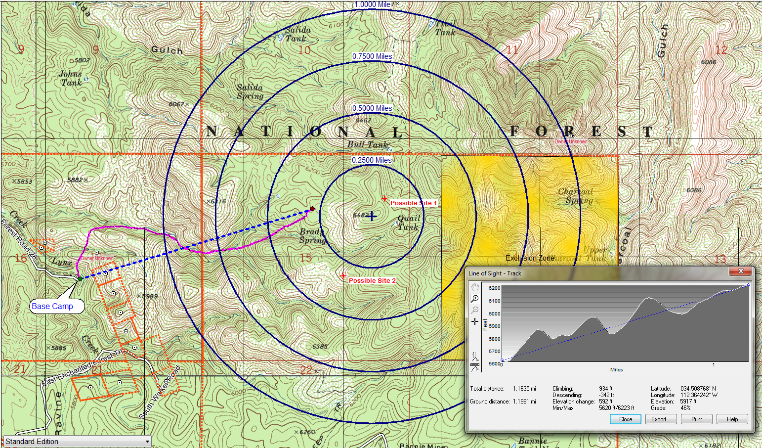 Desktop customize your maps and aerial photos with labels marks symbols lines routes tracks area fills and notes biocorpaavc